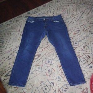 Diverso Women's 5-POCKET DESIGN Jeans Size 22W